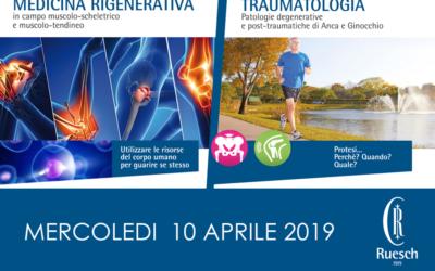 Medicina Rigenerativa e Traumatologia contro patologie muscolo-scheletriche e muscolo-tendinee