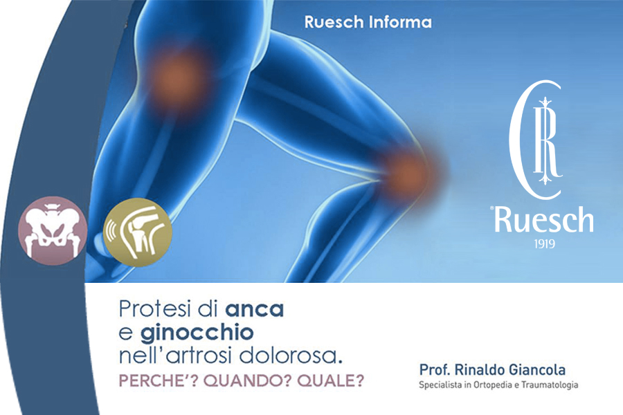 Diagnosi e Cura delle patologie degenerative e traumatiche di anca e ginocchio