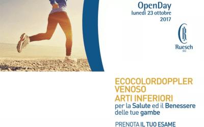 Openday per la salute ed il benessere delle gambe