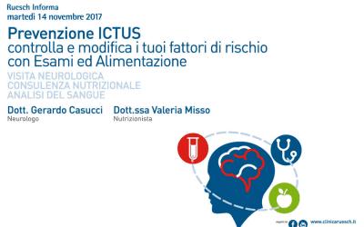 Giornata per la Prevenzione ICTUS