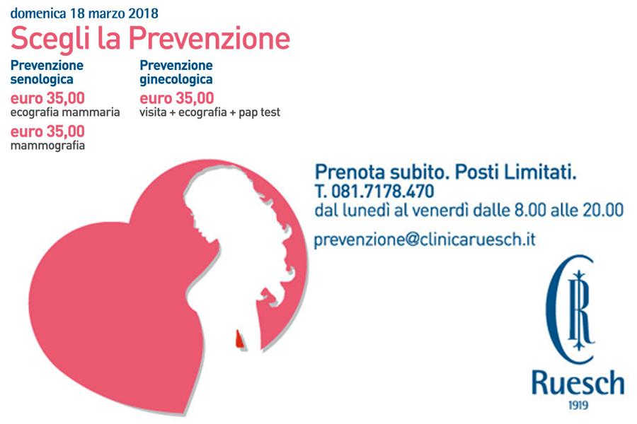 Giornata della prevenzione Ginecologica