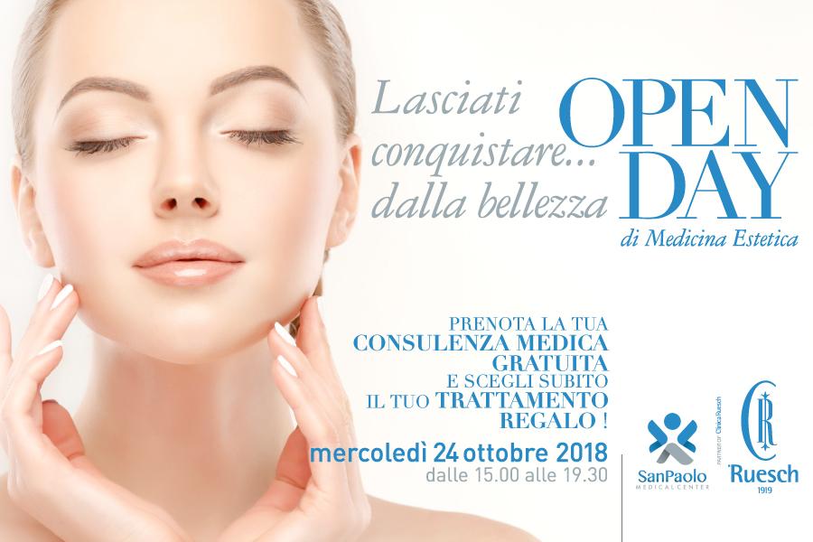 Openday di Medicina Estetica al San Paolo Medical Center partner of Clinica Ruesch